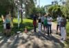 Лёгкая атлетика в стиле  «Готов к труду и обороне» в парке «Полюстрово»